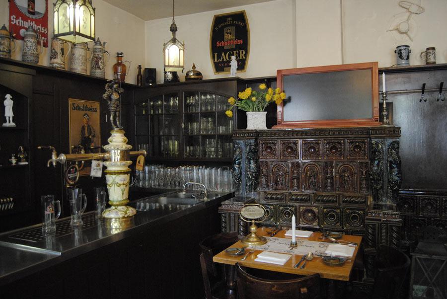 Restaurant Eingangsbereich